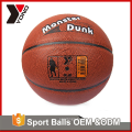 YONO factory wholesale basketball training equipment colorful size 2 3 5 6 7 custom rubber basketball for basketball training