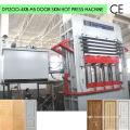 5 Layers Woodgrain Surface Door Laminate Machine