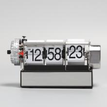 Flip Alarm Clock with Dynamic Seconds