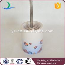sea fish design dolomite toilet brush holder