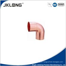 J9005 forjado cobre 90 graus soquete cotovelo 1 polegada cobre encaixe de tubulação