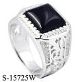 Modeschmuck 925 Sterling Silber Ring für den Mann