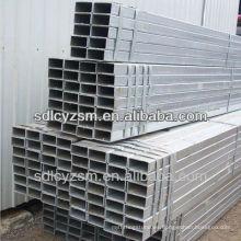 Etiqueta de precio ! Tubo de acero galvanizado Q215 gr A / B Furniture con forma cuadrada