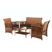 4 PC Rattan Polyrattan Möbel Im Freien