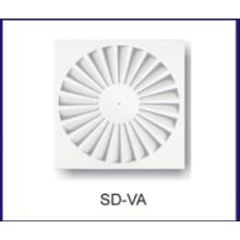 radiador ar HVAC de difusor de ar de roda