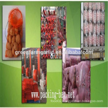 china PP tubular mesh sleeve fruit bag