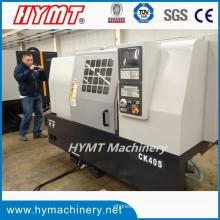 CK40S ttype CNC máquina de torno horizontal con sistema FANUC