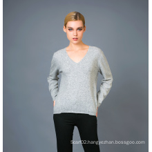 Lady′s Fashion Cashmere Sweater 17brpv001