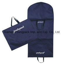 Azul marinho personalizado não tecido tecido pano terno capa