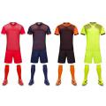 Jersey de fútbol en blanco del equipo del uniforme del fútbol del jersey de fútbol de calidad superior 2017