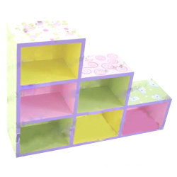 6-Cell Wall Hanging Shelf