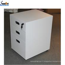 2018 Amérique marché vente chaude en acier 3 tiroir armoire de stockage