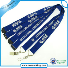New Products Factoty Price Custom Design for Mobile Phone Metal Hook Lanyard