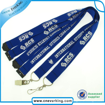 Eco-Friendly Manufactory Custom Polyester Lanyard