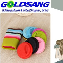 FDA Sealing-up and Leak-Proof Silicone Mug Cup Lid