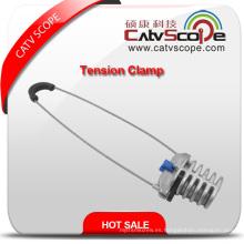Abrazadera de anclaje de abrazadera de tensión de cable de fibra óptica Csp-10-500 ADSS de alta calidad