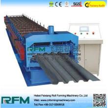 Chinesische LKW-Lagerplatte Rollenformmaschine