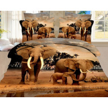 Plate Scream Printing Microfiber Fabric for Home Textile