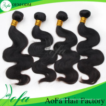 24inch Guangzhou Top Quality Virgin Wavy Hair Special Hair Extension