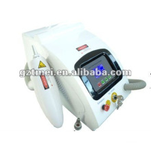 Professionelle Gebrauch Tattooentfernung Laser Maschine Q Schalter