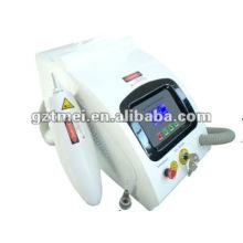 Utilisation professionnelle suppression de tatouage machine laser interrupteur Q