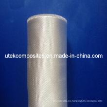 Más de 96% de dióxido de silicio 400GSM Satin Fiberglass Fabric