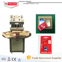 manual blister card heat sealing machine able top