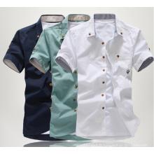 Polyester / Tissu en coton pour chemise