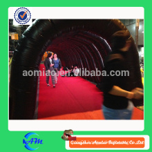 long inflatable adult tunnel inflatable kids toy tunnel for sale with customized designs