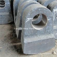 High Chrome Hammers Sand Casting Hammer Plates