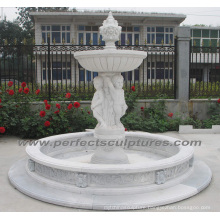 Garden Water Fountain with Stone Marble Granite (SY-F343)