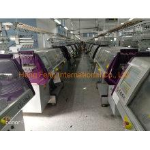 Shoe Upper Flat Knitting Machine 14G 3 System Year 2016 Chinese Made Sweater Knitting Machine for Sale