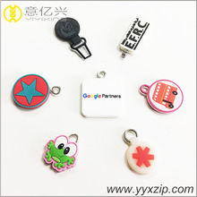 custom design star rubber puller for plastic zipper