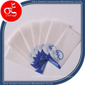 Etiqueta de pendurar de papel pergaminho personalizada / Etiquetas de balanço de papel vegetal transparente colorido
