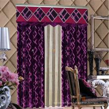 2015 alta calidad últimos diseños de cortinas de tela