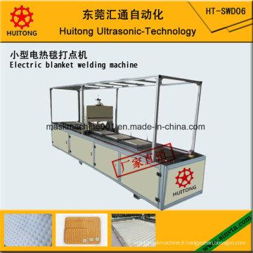 Machine de soudure de couverture électrique ultrasonique