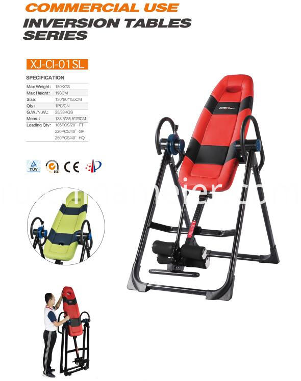 Therapy Table Deluxe Inversion Table