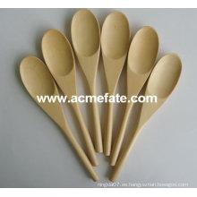 Cuchara de madera natural / cuchara de bambú / color natural