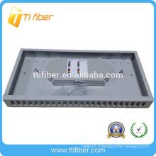 Panneau de raccordement Fibre Optique duplex SC 12 Type de montage fixe