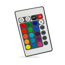 Controlador MINI WIFI RGB / RGBW LED con control remoto IR para luz de tira LED SMD 3528/5050, control de música mágica APP / IOS