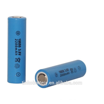 18650 powerful lithium battery by bigger facotry