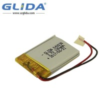 302040 Rechargeable Li-Polymer Battery 3.7V 190Mah