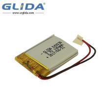Bateria recarregável de polímero de lítio 302040 3,7V 190Mah