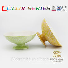Wholesale used household items for sale, ceramics italian pottery dessert bowl