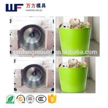 PE soft 25LToy bucket mould made in China/OEM Custom plastic injection soft 25LToy bucket mold making