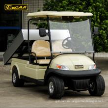 Coche de buggy eléctrico barato del carro de golf de 2 plazas para el carro de golf del club de la venta con el cargo
