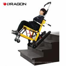 Escalier électrique stable de civière d'escalier électrique de puissance coulissant de fauteuil roulant pour monter