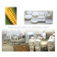 starch pp dinnerware making machine