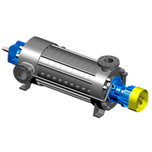 Pompe centrifuge multicellulaire résistante à l'usure et à la corrosion de série Dfs