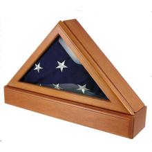 Caixa da medalha do triângulo para a decoração Home